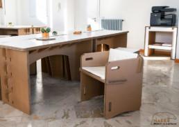 Nardi mobilier en carton